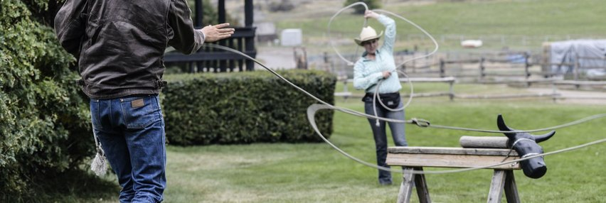 special events sundance guest ranch, ranch roping, horseback riding getaway