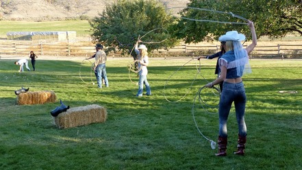 Stagette Ladies Roping